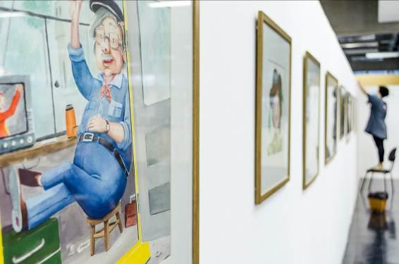 Biblioteca Zink recebe exposição literária 'Isabela Adormecida'
