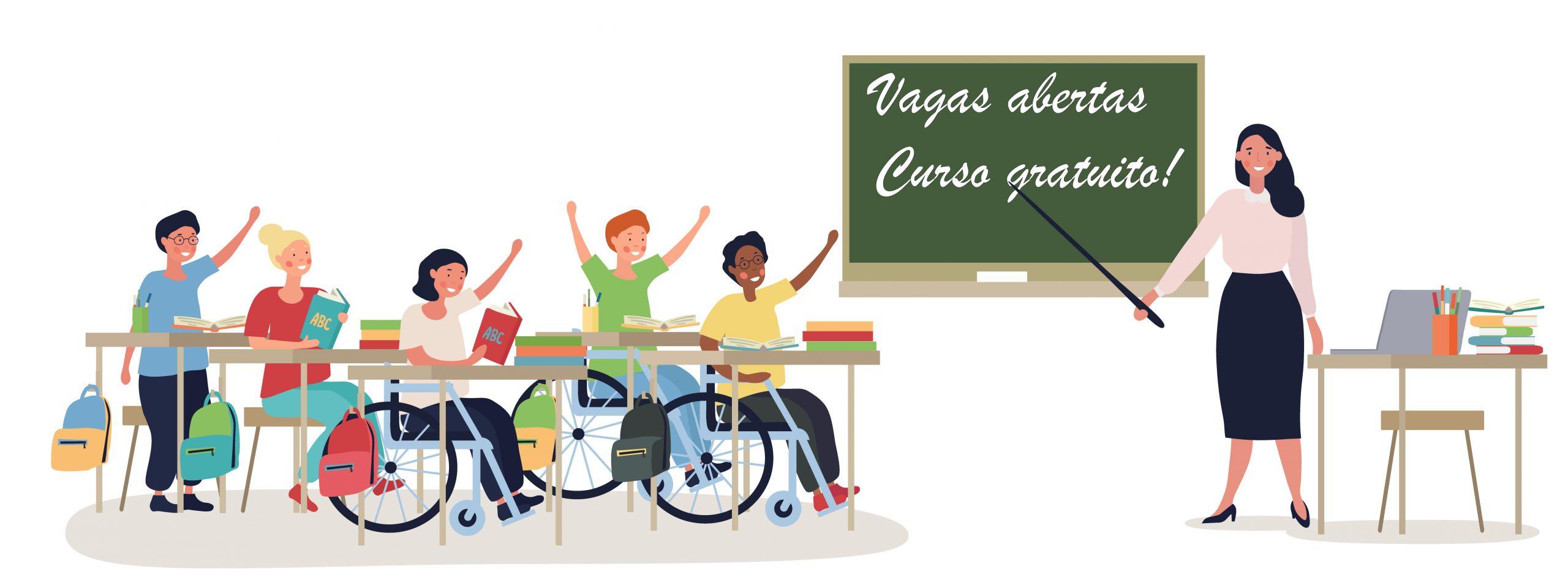 Curso gratuito voltado a pessoas com deficiência está com inscrições abertas