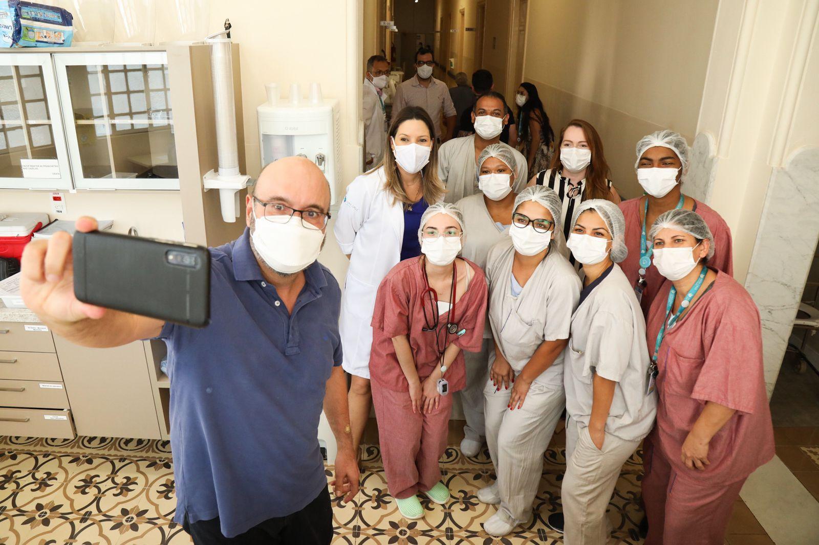 Prefeito Dário Saadi tem alta médica