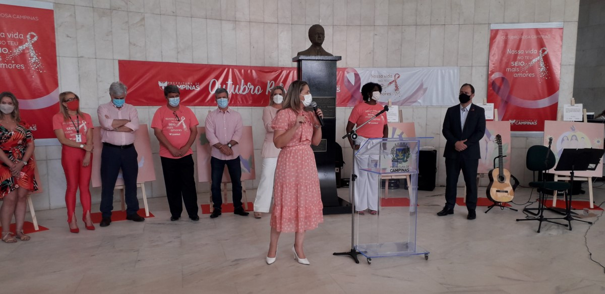 Campanha Outubro Rosa terá diversas atividades